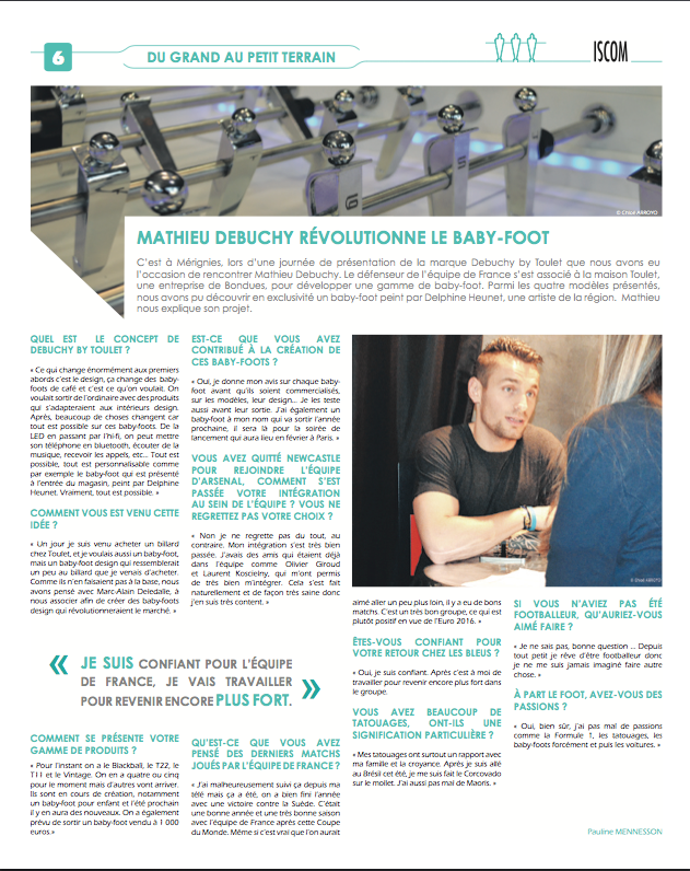 Article lavoixdunord-debuchy by toulet
