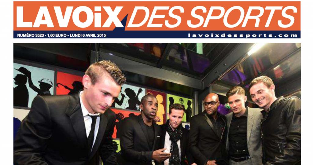 Article-LA VOIX DES SPORTS -DEBUCHY BY TOULET