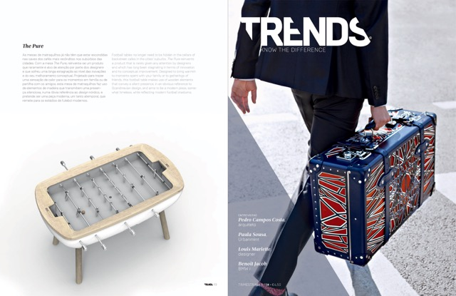 Debuchy by toulet - baby-foot design - the pure - article trends