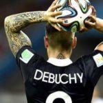 Mathieu Debuchy lors de la coupe du monde 2014 au Brésil