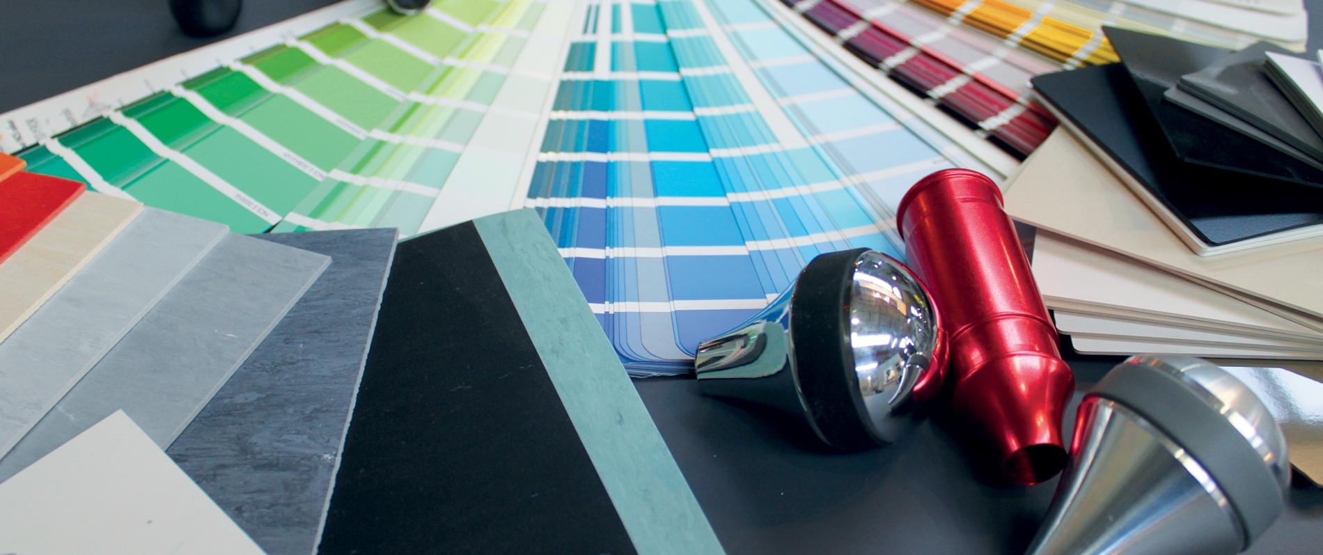 La palette de couleur Debuchy by toulet