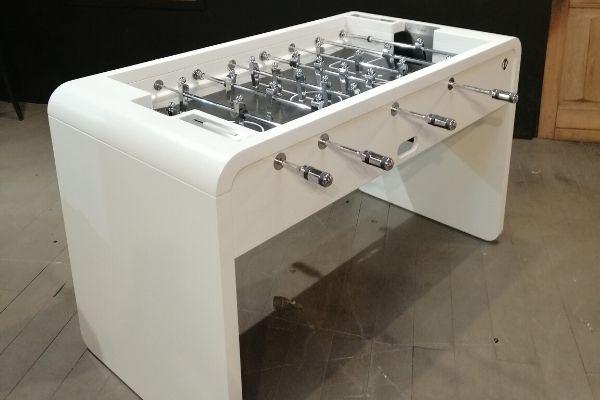 Baby-foot blanc - T22 - Design