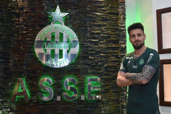 Mathieu Debuchy nouveau joueur de l'ASSE