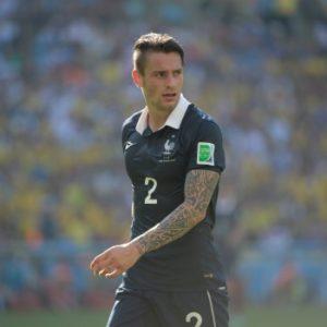 Mathieu Debuchy N°2 sous le maillot de l'équipe de France lors de la coupe du monde 2014 au Brésil