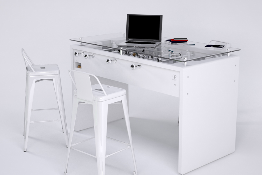 Debuchy by toulet t11 baby foot modern table