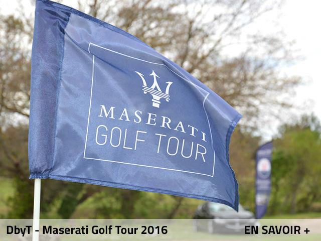 Drapeau Maserati Golf Tour Debuchy by toulet