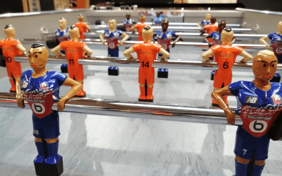 Joueurs de baby-foot personnalisés Debuchy By Toulet
