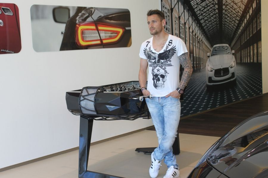 Baby-foot design Mathieu Debuchy By Toulet - Debuch'