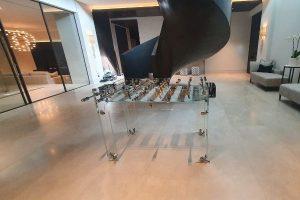 Achat baby-foot en verre Carat - Debuchy By Toulet