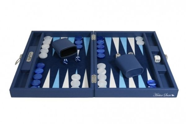 Jeux Backgammon Haut de gamme - Cuir - Hector Saxe - Toulet