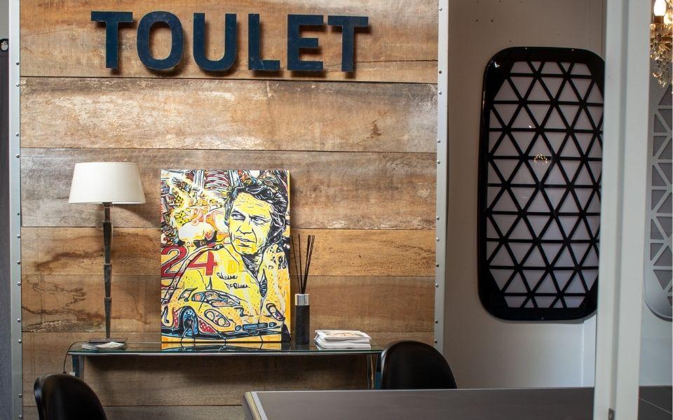 Debuchy by Toulet et la Boogy Industrie : babyfoot et art