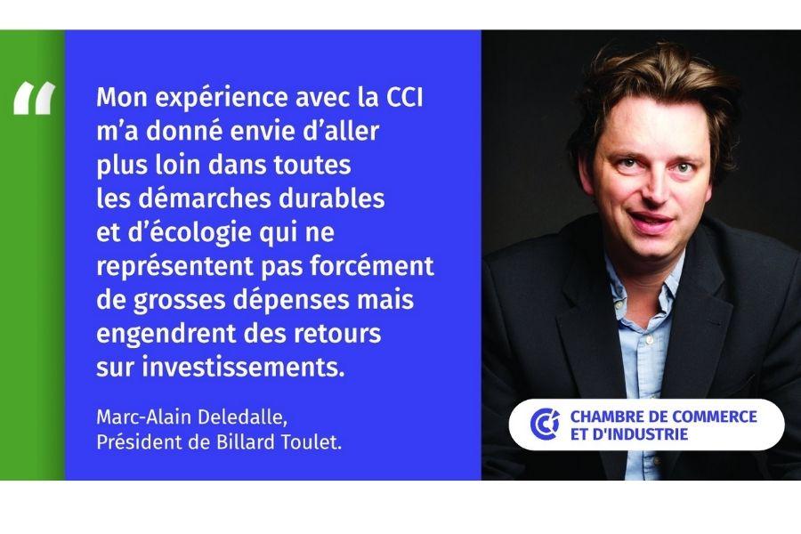 Interview de la CCI - Actions durables et écologiques