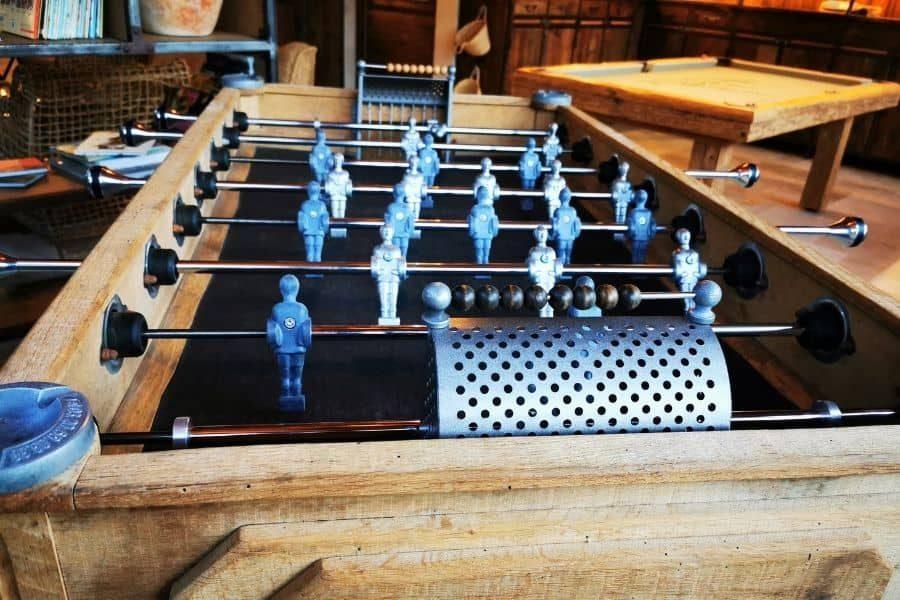 Baby-foot en bois restauré Vintage - Debuchy By Toulet
