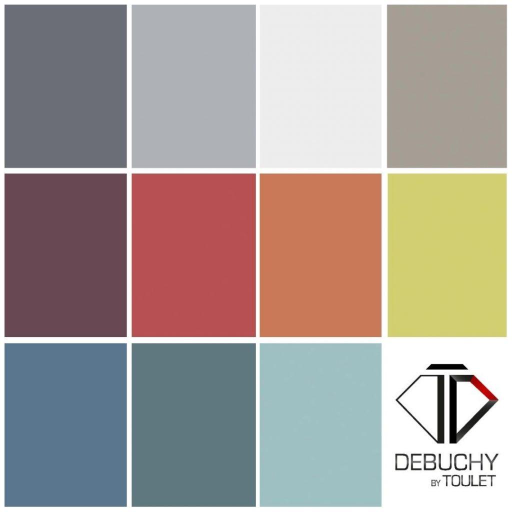 Les nouvelles couleurs de fond de jeu baby-foot Debuchy By Toulet