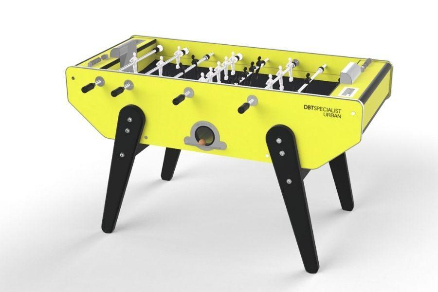 Baby-foot moderne jaune et noir - Specialist Urban - Debuchy By Toulet