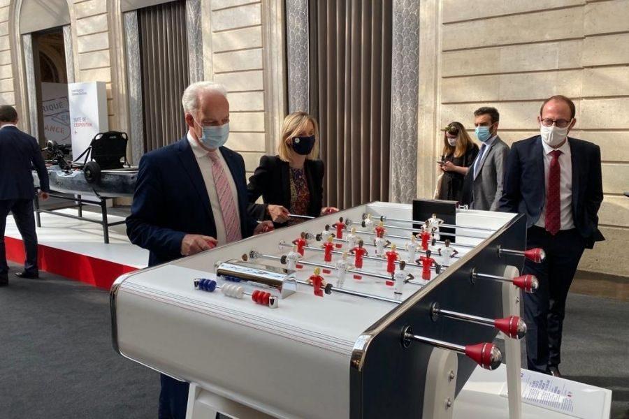 Républifoot Grande Exposition du Fabriqué en France 2021 Ministres - Debuchy By Toulet