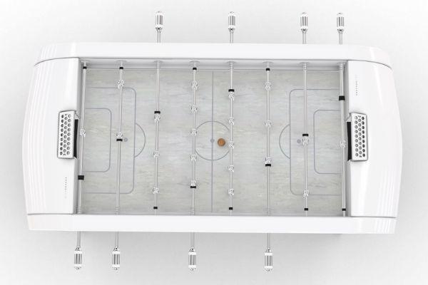Achat baby-foot design blanc Blackball - Debuchy By Toulet